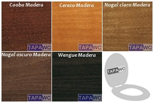 GAMA COLORES MADERAS TAPAWC