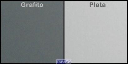 NUEVOS COLORES METALIZADOS PARA TAPAWC COMPATIBLE PLATA Y GRAFITO
