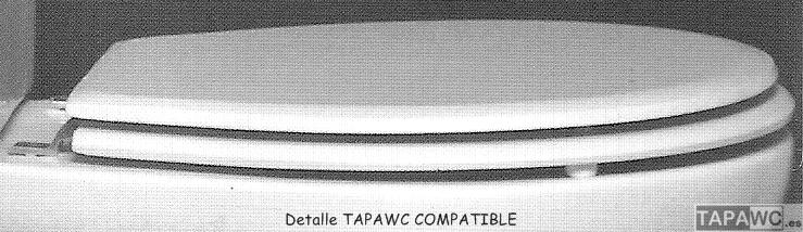 DETALLE TAPAWC COMPATIBLE