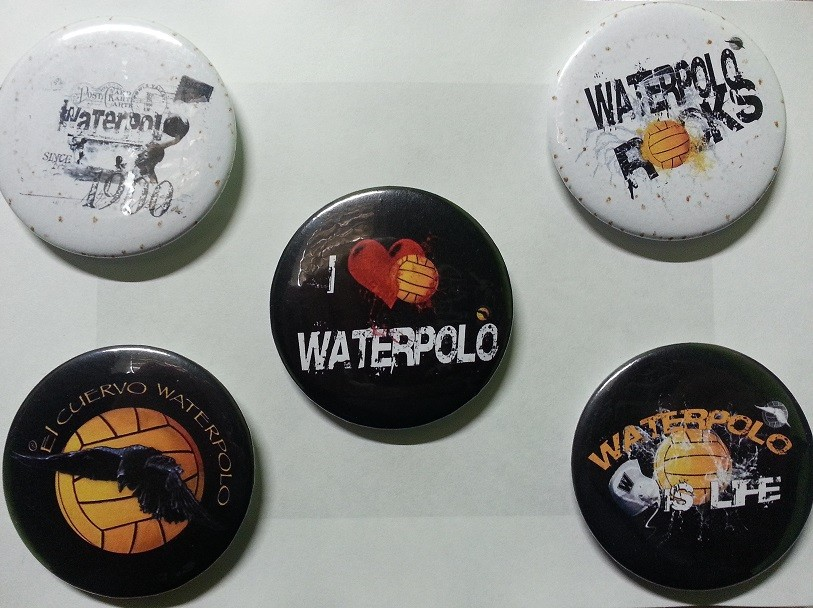 PIN WATER POLO ROCKS
