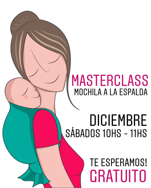 MASTERCLASS - MOCHILA A LA ESPALDA  - DICIEMBRE - SÁBADOS - 10hs s 11hs.