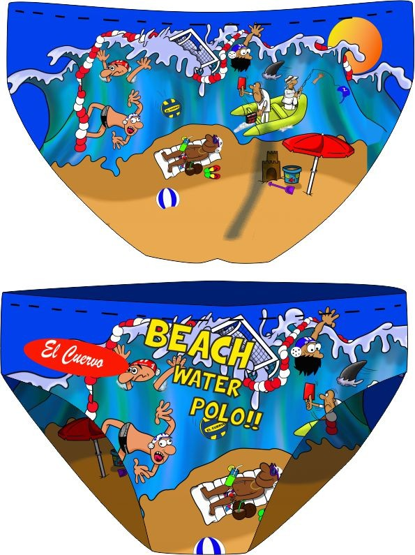 SL BEACH WATER POLO bajo demanda