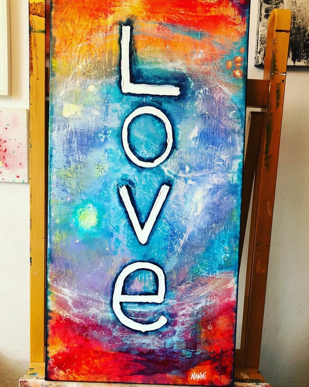 LOVE - 120cmx50cm de NANNI ART