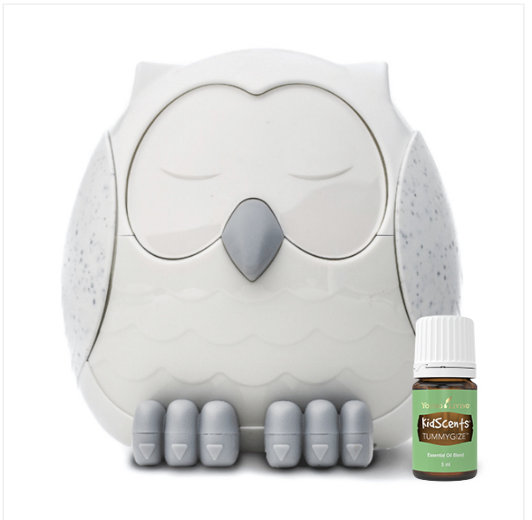 Snowy the Owl Diffuser + TummyGize 5 ml
