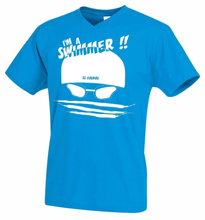 TS I'M A SWIMMER BLUE OCEAN