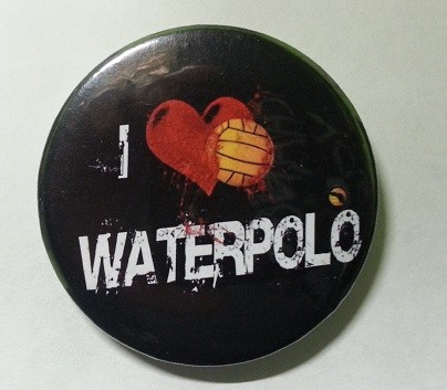 PIN I LOVE WATER POLO