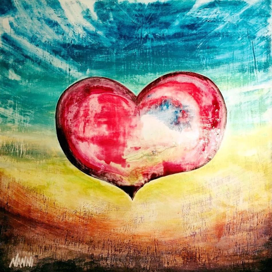 LOVE - 50cmx50cm de NANNI ART