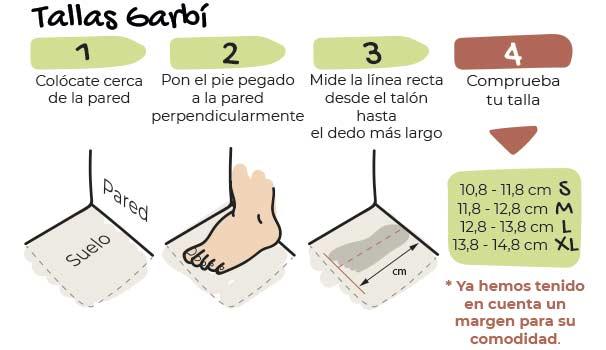 Zapato Feroz GARBÍ color AZUL - Deportiva de bebé para primeros pasos DISPONIBLE