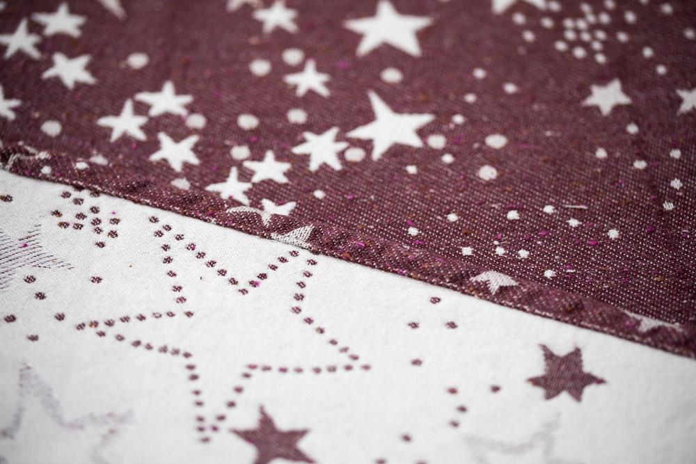 Fular tejido LOVALOOM PASSIÓN Astra Cranberry T6