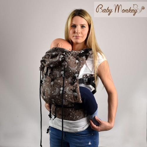 Mochila Regolo Baby MONKEY cúrcuma
