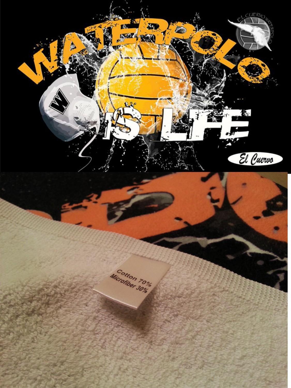 WATER POLO IS LIFE TOWEL 160X80 ALGODON / MICROFIBRA