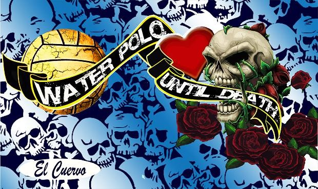 WATER POLO UNTIL DEATH  160X80 MICROFIBRA