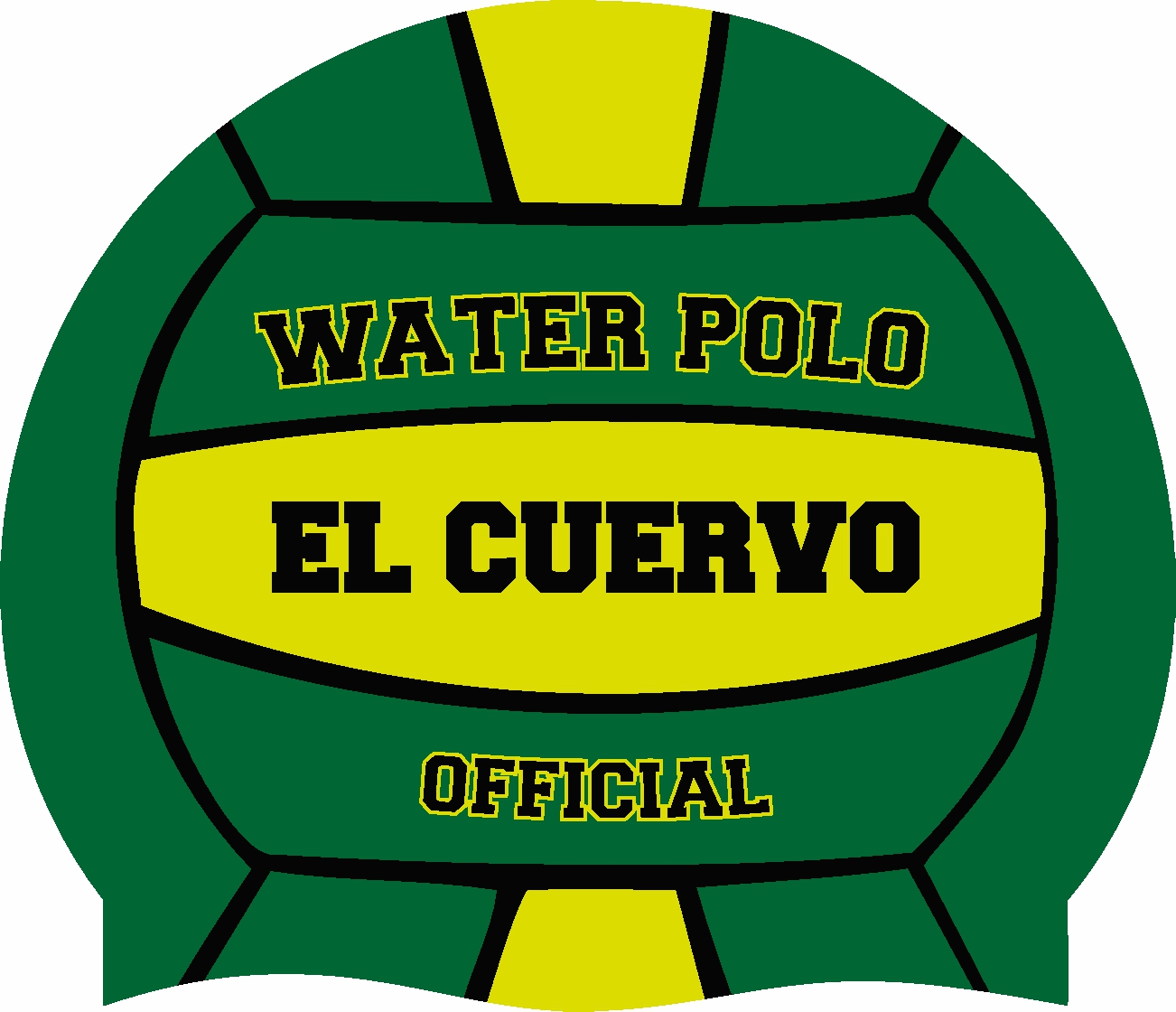 SC WATERPOLO BALL GREEN