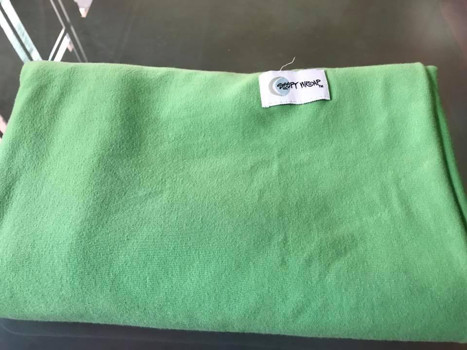 Fular elástico Sleepy Wrap verde manzana