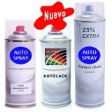 Kit Spray Pintura Plásticos Coche