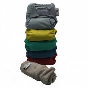Pack de 5 pañales Pop-in V2 colores vivos 2020
