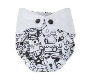 Cobertor Recién Nacido Mommy Mouse Black