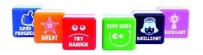 Pack de 6 sellos de motivación (inglés)