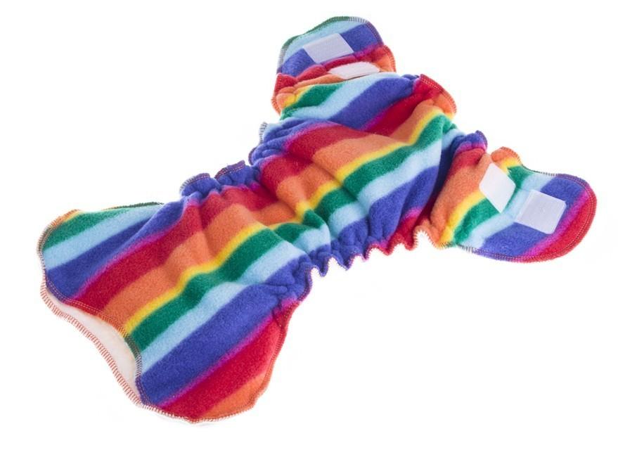 Pañal ajustado Bum Hugger Rainbow
