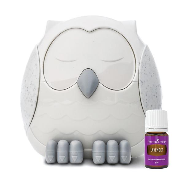 Snowy the Owl Diffuser + Lavander 5ml