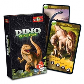 Juego de cartas Dino Challenge