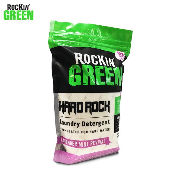 Detergente en polvo Rockin Green Hard Rock