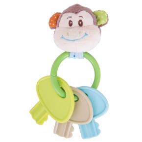Sonajero con llaves Cheeky Monkey