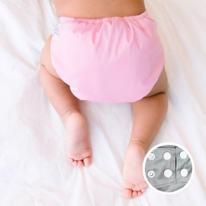 Pañal rellenable La Petite Ourse Baby Pink