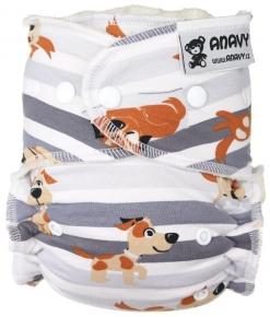 Pañal ajustado unitalla Anavy Dogs