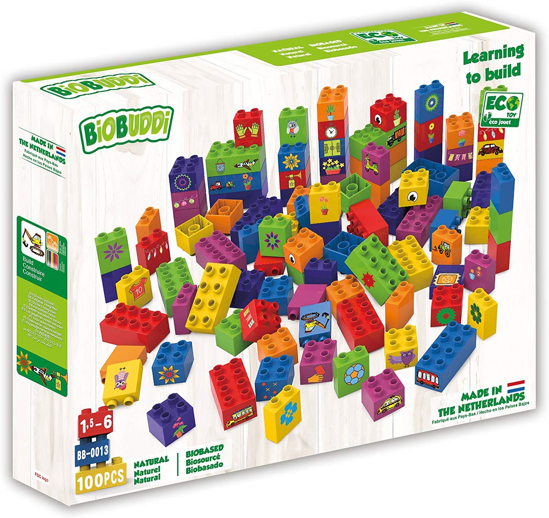 Bloques de construcción Biobuddi 100 piezas