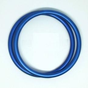 Anillas de aluminio azul