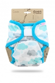 Cobertor XL Petit Lulu Clouds Blue