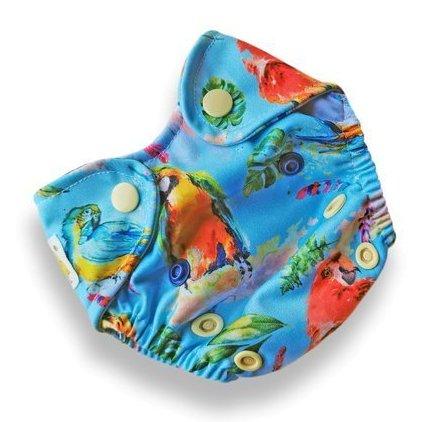Cobertor Kokosi Recién Nacido Loros