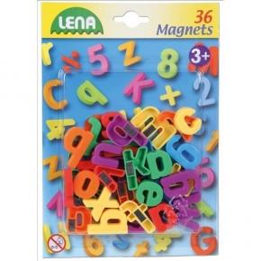 Letras minúsculas magnéticas