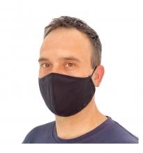 Mascarilla Higiénica Antibacterial Quokkababy Adulto Negra