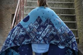 Fular Yaro Everest Trio Silver Blue Tencel