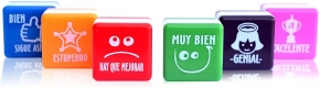 Pack de 6 sellos de motivación (español)