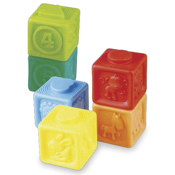 Cubos apilables blandos