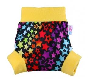 Cobertor Petit Lulu Pull-Up Rainbow Stars