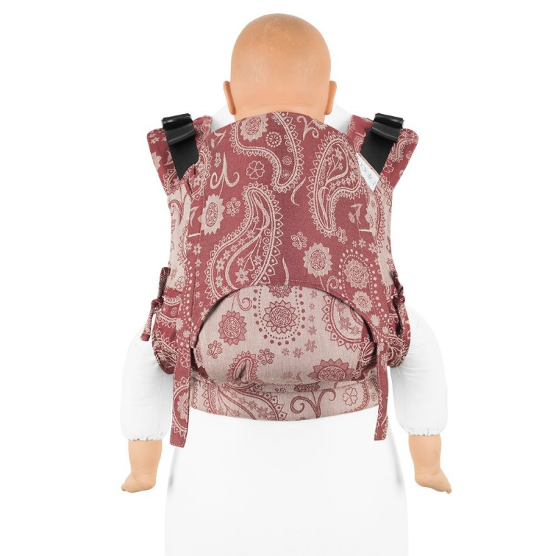 Mochila Fidella Fusion Toddler 2.0 Persian Paisley Ruby Red
