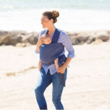 Fular Portabebés Elástico Moby Wrap Evolution Denim