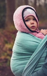 Fular Nona Woven Hypnotic Vaiana con lana