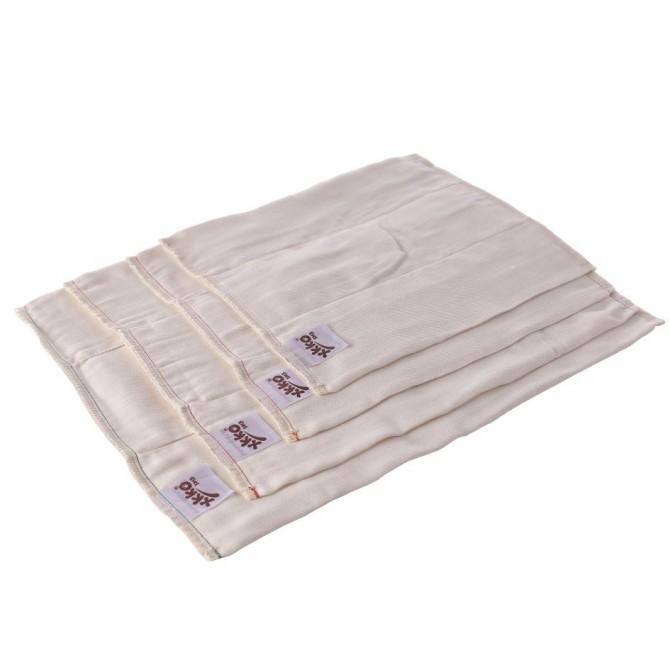 Pack de 6 pañales predoblados de bambú Xkko Talla M (Infant)
