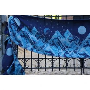 Bandolera Yaro Everest Trio Silver Blue Tencel