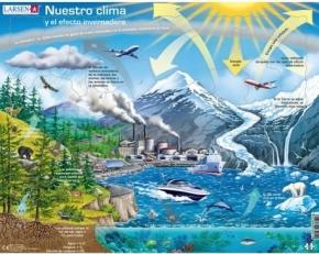 Puzle Larsen nuestro clima y el efecto invernadero