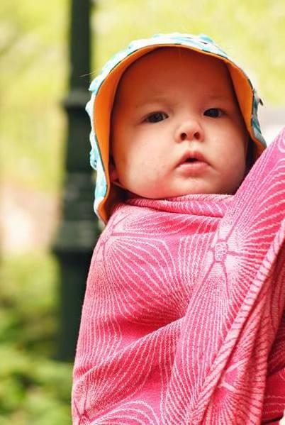 Fular Nona Woven Juno Fluviona con lino