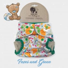Cobertor unitalla Bambi Roxy Foxes