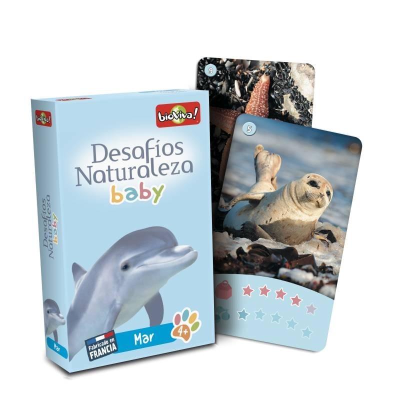 Juego de cartas Desafíos Naturaleza Baby