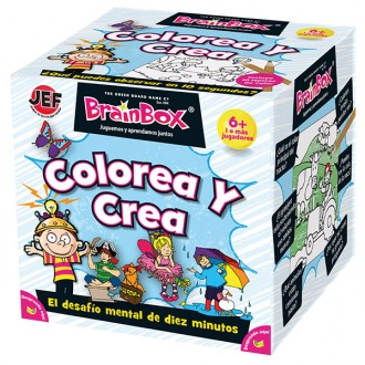 Brainbox Colorea y crea