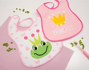 Pack de dos baberos Princess
